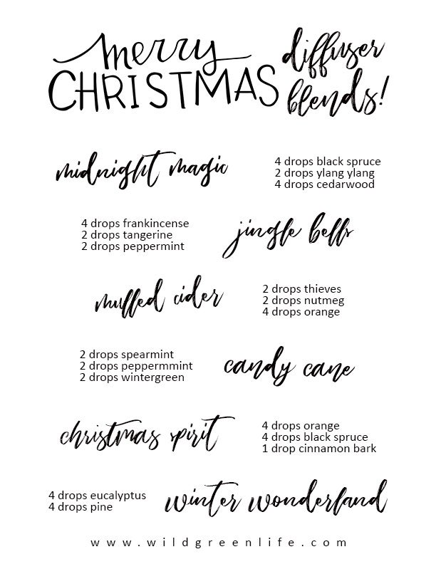 Christmas-diffuser-blends