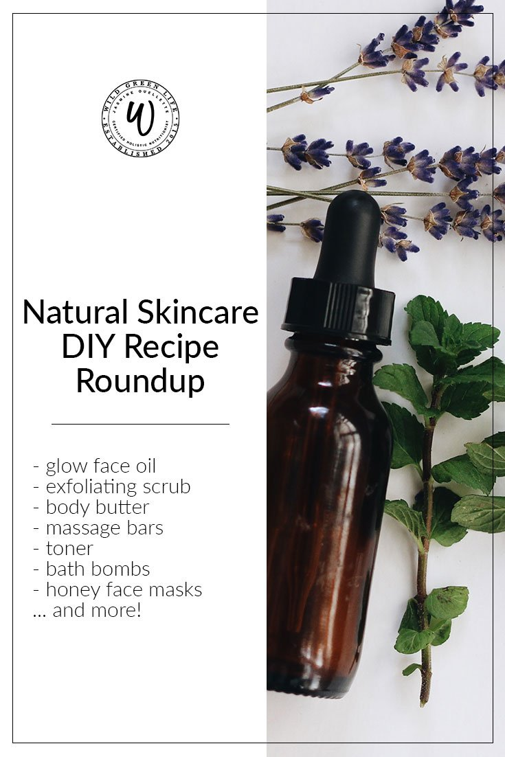 Natural Skincare DIY Recipe Roundup