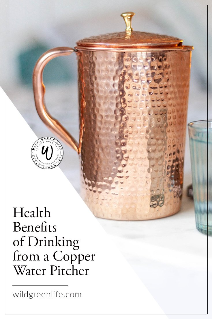 Health Benefits of Drinking from A Copper Water Pitcher