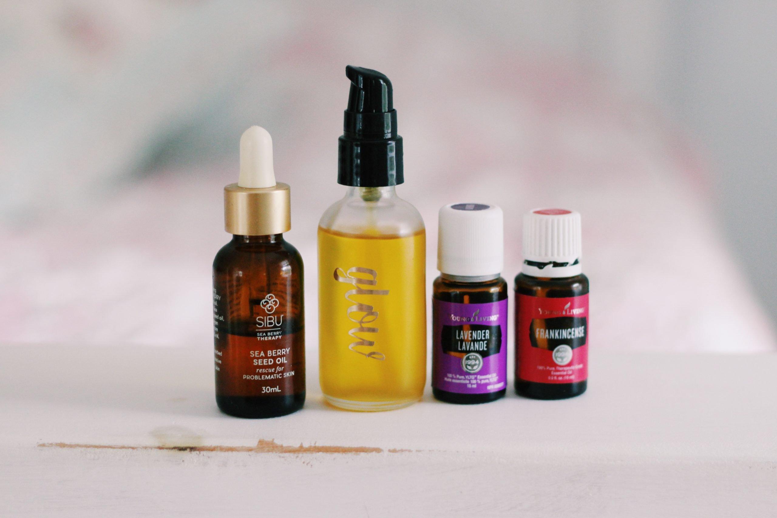 Glow - rejuvenating facial oil