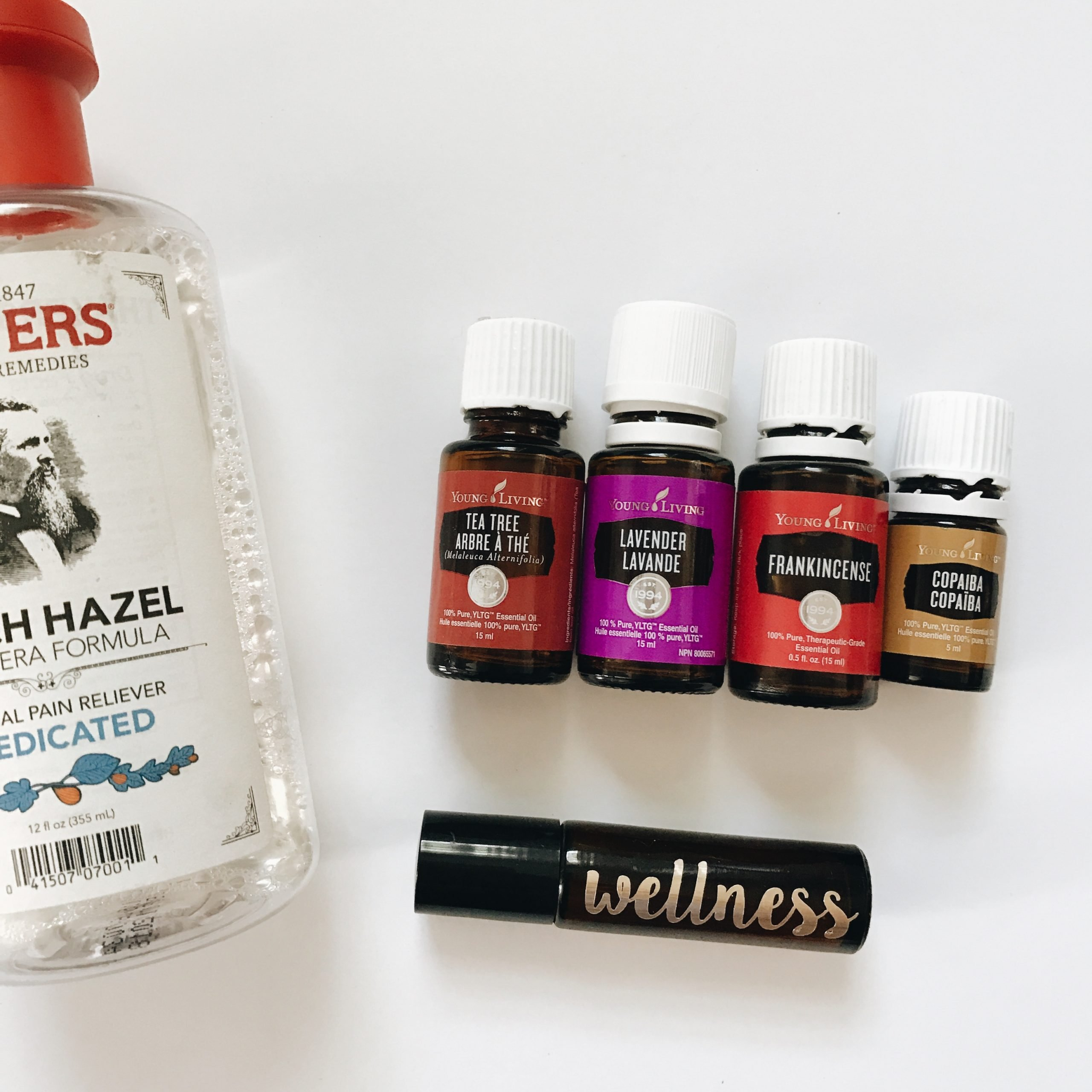 DIY Facial toner with essential oils